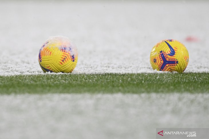 Liga Spanyol: Laga Altetico Madrid vs Bilbao ditunda karena badai salju