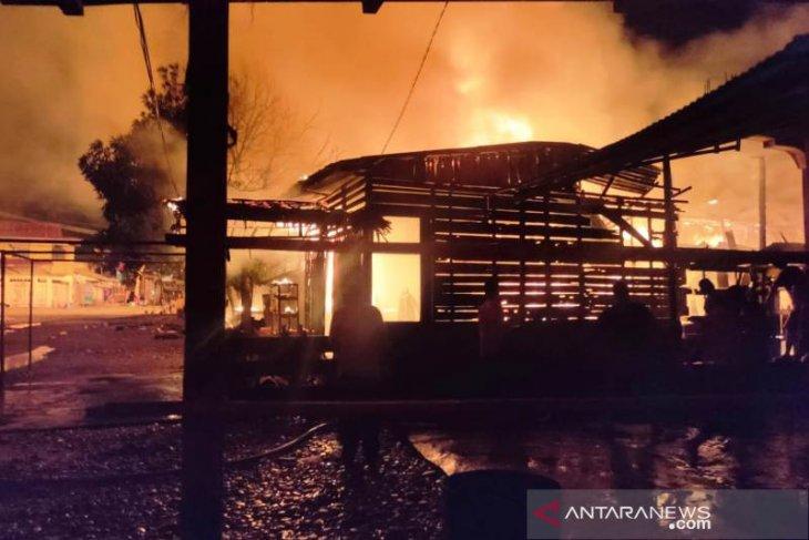 Lima ruko di Aceh Selatan terbakar, 19 warga mengungsi