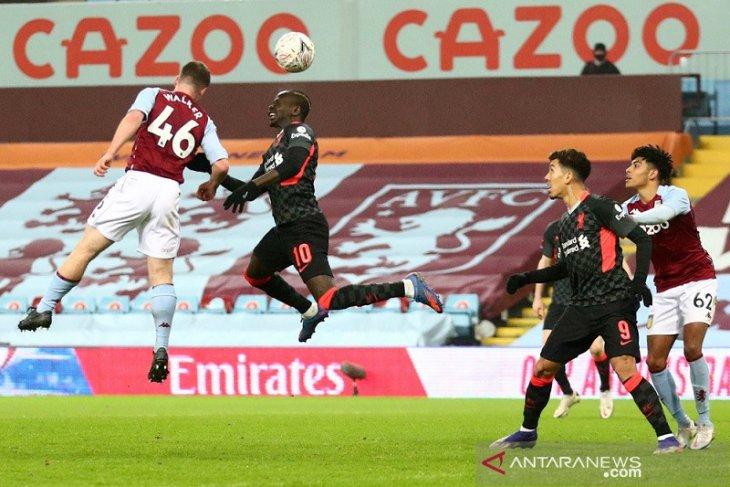 Piala FA: Liverpool menang telak 4-1 atas tim U-23 Aston Villa