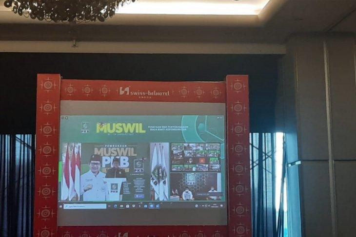 Muhaimin   Musyawarah Wilayah  momentum titik awal kebangkitan PKB