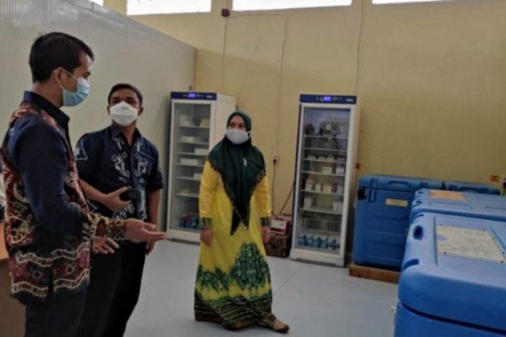 Gudang Instalasi Farmasi bisa tampung 250 ribu vaksin
