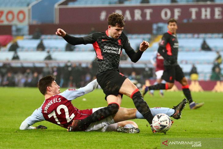 Akibat COVID-19, laga Aston Villa lawan Everton harus ditunda