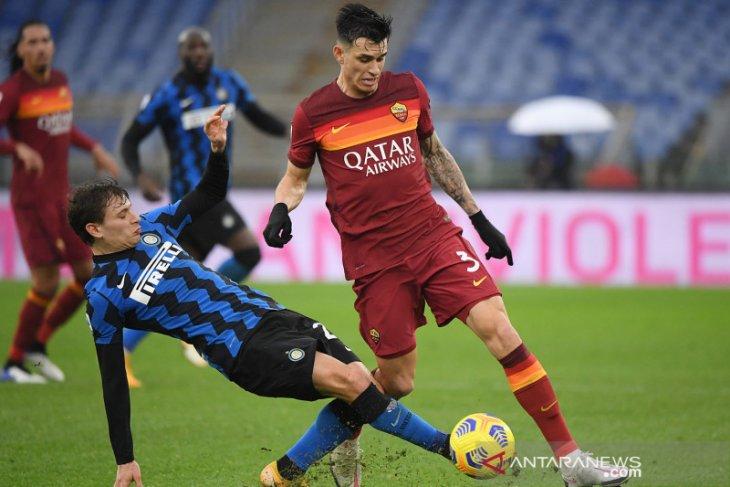 Liga Italia: Fonseca sebut Roma kehilangan intensitas saat diimbangi Inter Milan