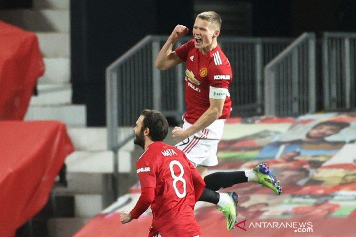 Gol sundulan Scott McTominay antar MU melaju ke putaran keempat Piala FA