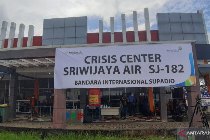 Update Sriwijaya Air, Kahmi Kalbar dampingi keluarga mantan Ketum PB HMI