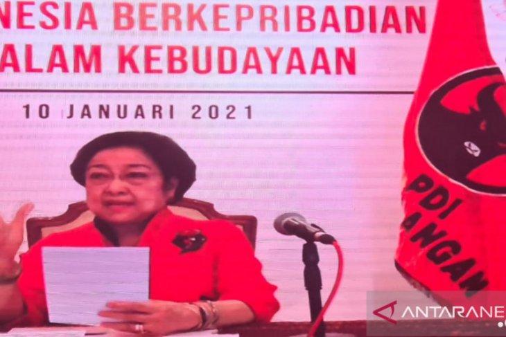 Megawati sebut RI harus miliki data tunggal digunakan semua K/L-Pemda