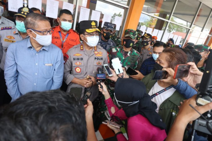 Polda Kalbar siapkan tim psikologis bagi keluarga korban tragedi Sriwijaya Air