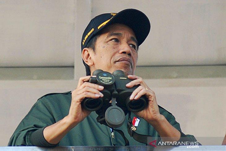 Presiden Jokowi memerintahkan pencarian korban pesawat Sriwijaya Air