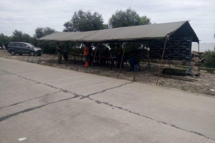 Lanal Banten dirikan posko SAR kecelakaan Sriwijaya Air di Kepulauan Seribu