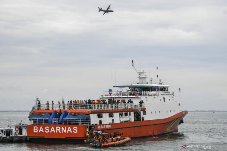 Basarnas kerahkan 53 kapal untuk operasi SAR Sriwijaya Air SJ-128
