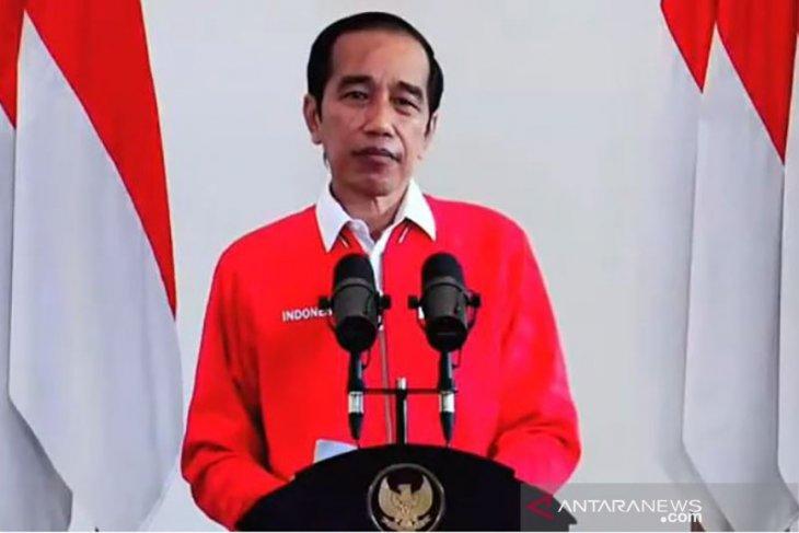 Presiden puji gerakan tanam pohon oleh kader PDIP se-Indonesia