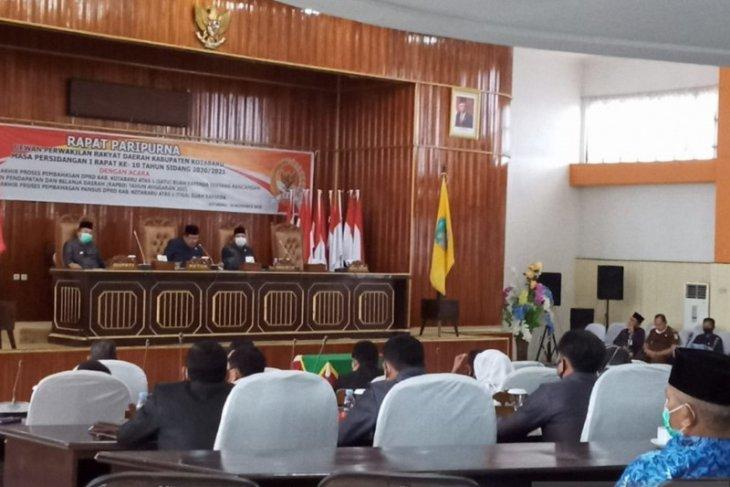 Capaian kinerja 2020 DPRD Kotabaru 65 persen