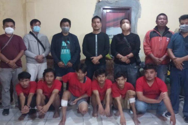 Polisi amankan enam begal sadis di Medan
