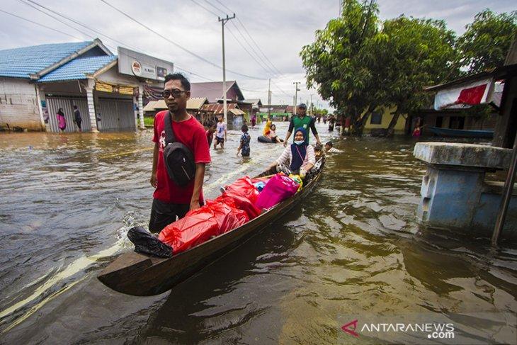 Banjir Di Bati Bati Kalsel
