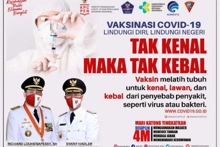 Tenaga kesehatan di Ambon ikut pelatihan vaksinator COVID -19
