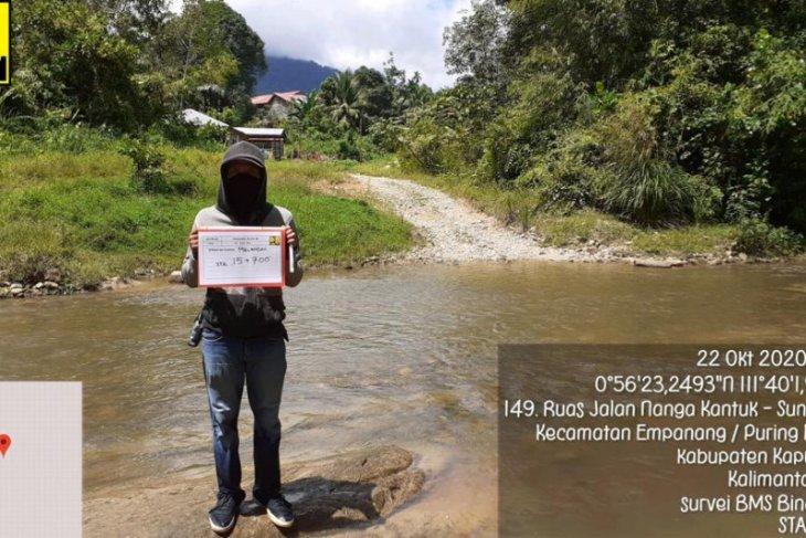 Tahun ini satu jembatan di Kapuas Hulu perbatasan RI-Malaysia dibangun
