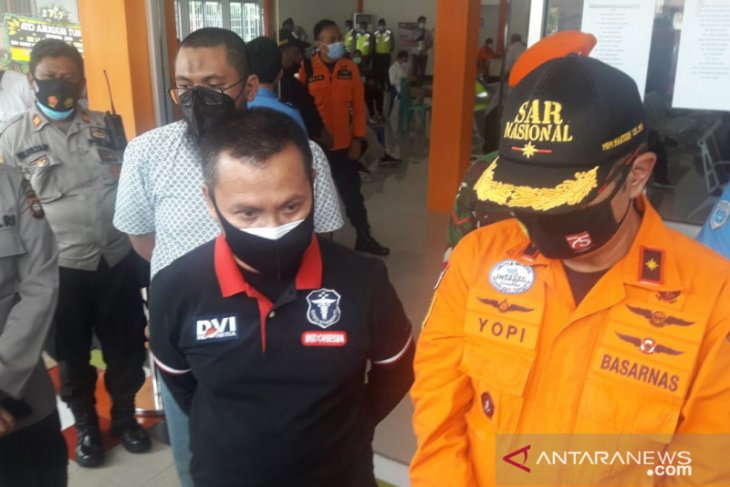 Update Sriwijaya Air jatuh, 21 sampel DNA keluarga korban sudah diambil