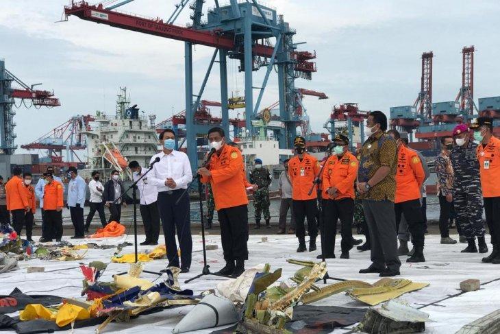 Basarnas kumpulkan  40 kantong jenazah kecelakaan pesawat SJ182