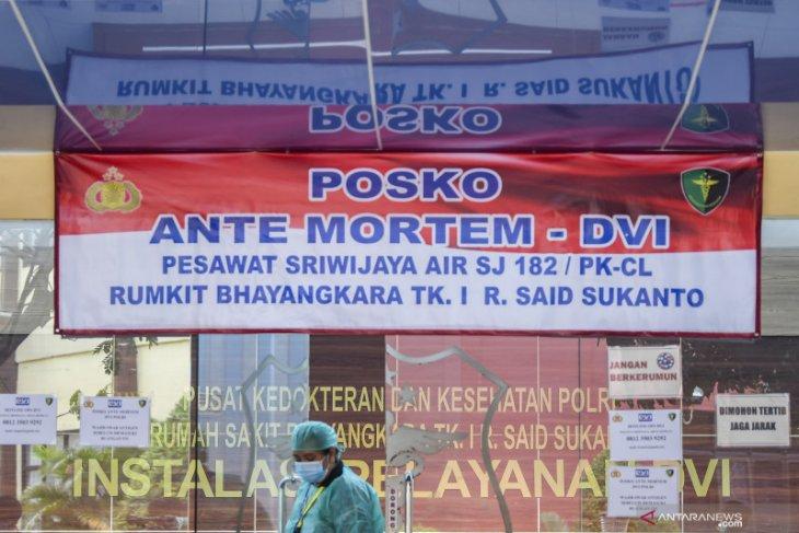 Satu korban kecelakaan Sriwijaya Air teridentifikasi