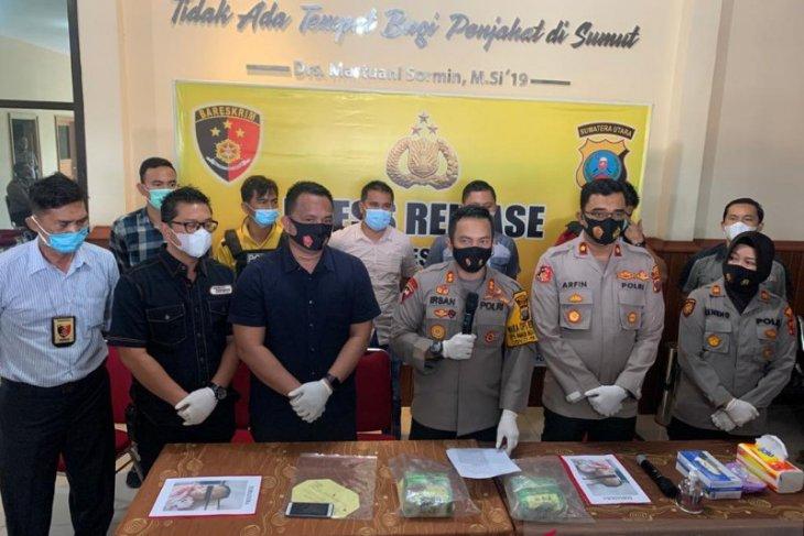 Polisi tembak mati kurir sabu-sabu asal Aceh di Medan, tersangka merusak borgol dan melawan petugas