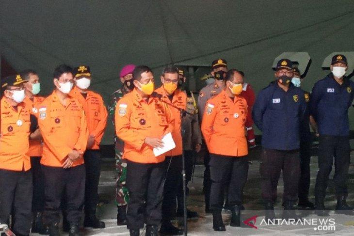 Basarnas: Perpanjangan pencarian Sriwijaya  Air SJ 182 tahap pertama sampai 3 hari