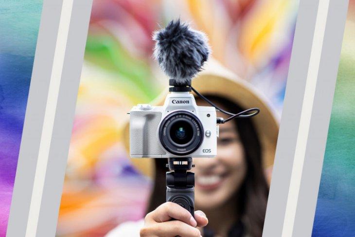 Canon EOS M50 Mark II,  kamera mirrorless praktis hasilkan foto dan video berkualitas