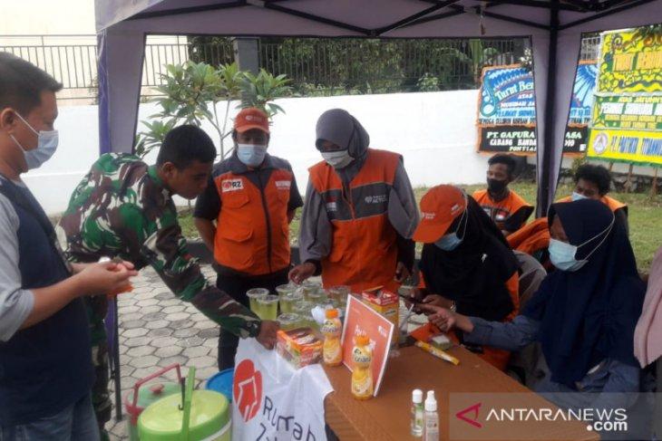 Rumah Zakat dan Kaafilul Yatim bantu sediakan makanan di Crisis Center
