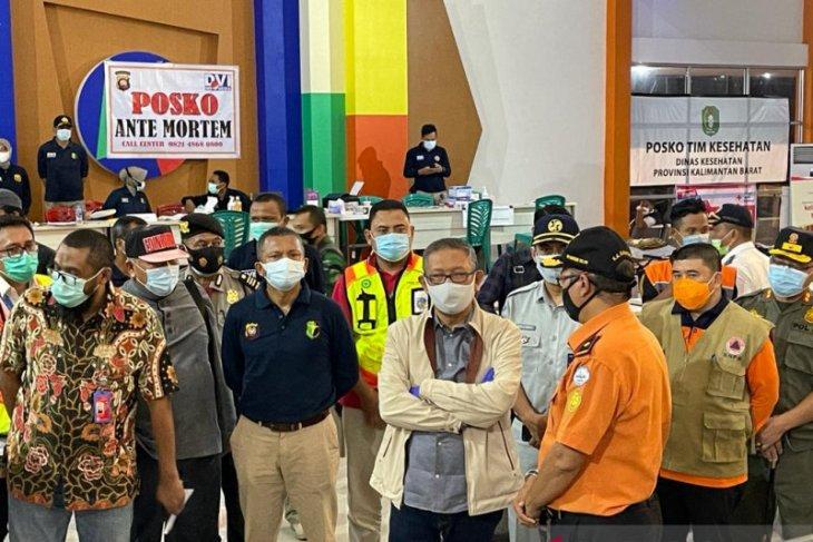 Gubernur minta Sriwijaya secepatnya sampaikan data korban asal Kalbar