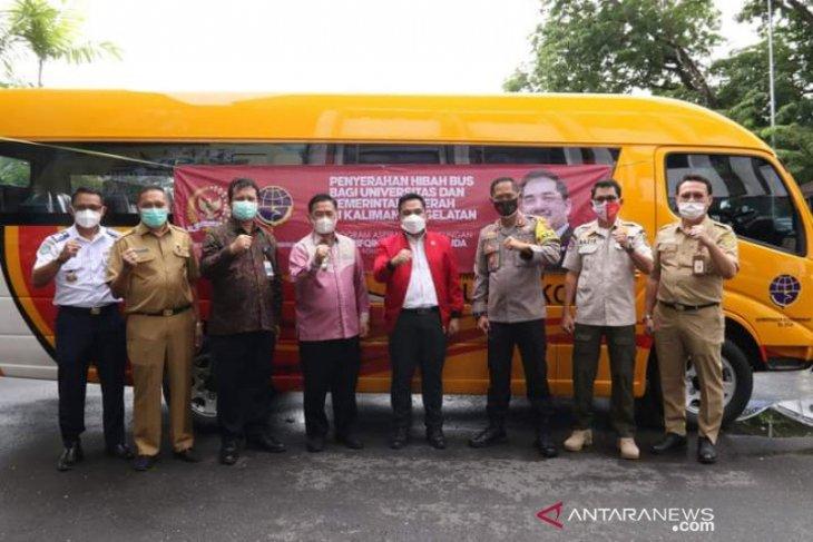 Banjarmasin mendapat bantuan bus sekolah dari Kemenhub