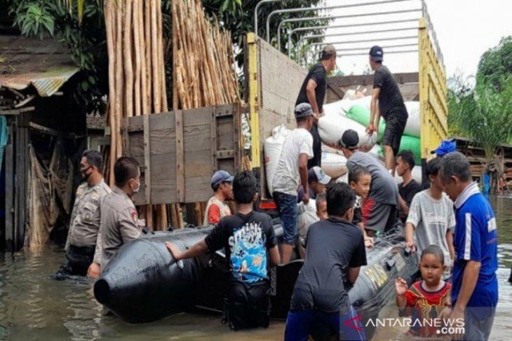 Polres Tala dirikan dapur umum untuk korban banjir