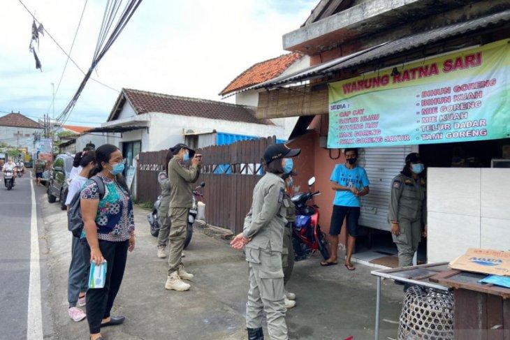 Tim yustisi Kota Denpasar jaring tujuh pelanggar protokol kesehatan