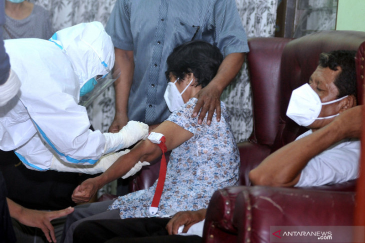 Tim DVI Polda Bali ambil sampel DNA keluarga pramugari Sriwijaya