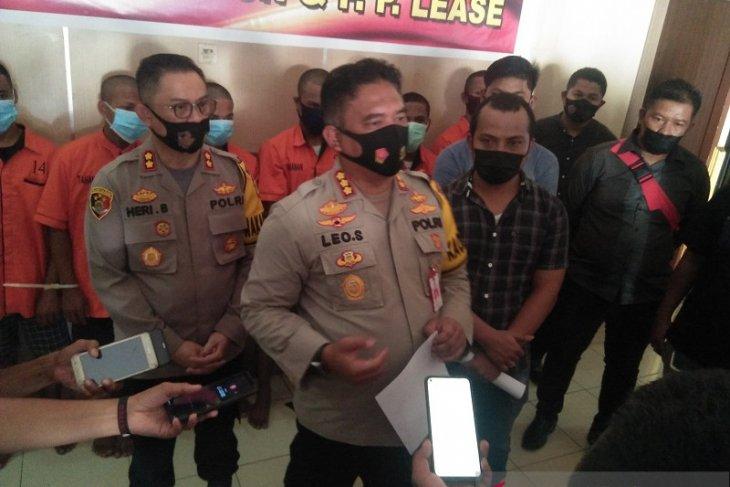 Polresta Pulau Ambon ungkap tindak pidana pembunuhan dan pemerkosaan