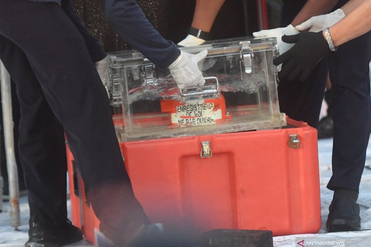 CVR Sriwijaya Air SJ-182 akhirnya ditemukan