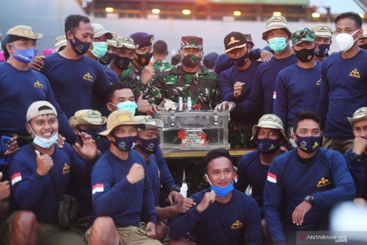 Cerita tim SAR TNI-AL temukan kotak hitam Sriwijaya Air