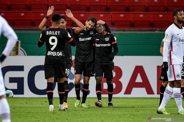 Leverkusen bangkit dari ketinggalan untuk menang 4-1 atas Eintrahct Frankfurt
