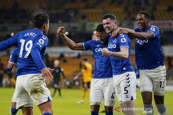 Everton memperburuk tren nirmenang Wolverhampton