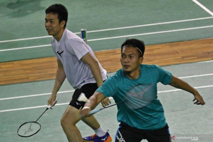 Ahsan/Hendra hadapi juniornya pada Thailand Open hari kedua
