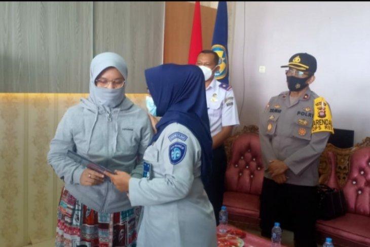 Jasa Raharja santuni keluarga korban Sriwijaya Air di Kalbar