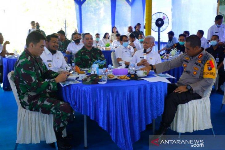 Bupati Asahan dan Walkot Tanjung Balai bahas pengerukan Sungai Asahan