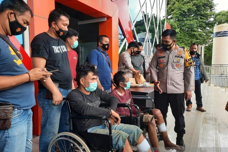 Polisi ringkus dua perampok pendatang yang tersesat usai beraksi