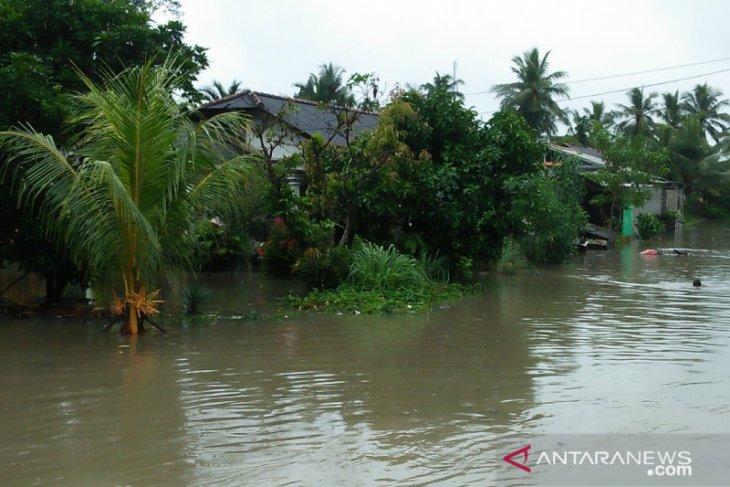 Ribuan rumah warga di Bangka terendam banjir
