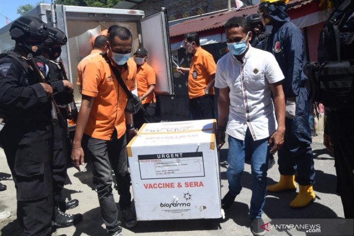 Pemkot Ambon siap distribusikan 7.280 vaksin COVID-19 ke 29 Fasyankes