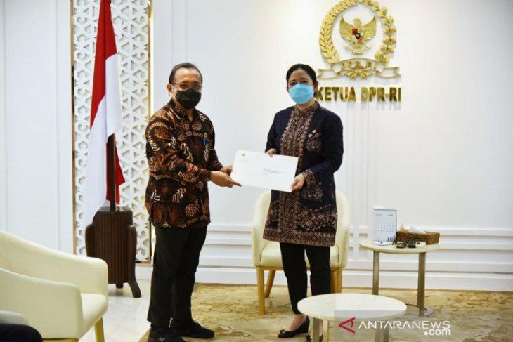 DPR terima Surpres terkait Listyo Sigit Prabowo sebagai calon Kapolri