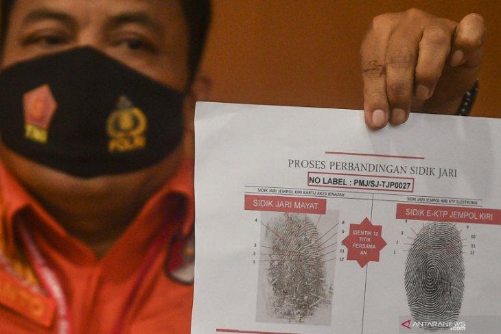 Tim DVI Polri terima 162 kantong jenazah dan 74 kantong properti