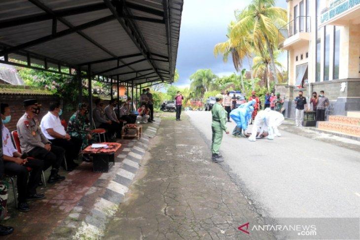 Tim Polda Bali lakukan penilaian Desa Tangguh di Jembrana