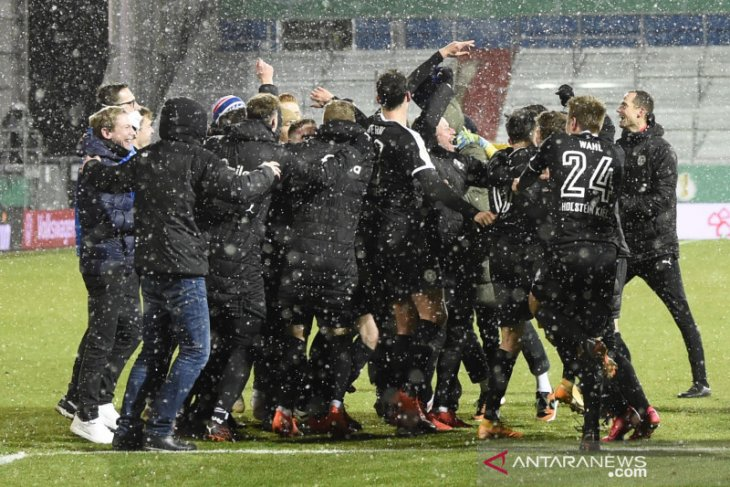 Bayern Muenchen disingkirkan klub divisi dua Holstein Kiel dari Piala Jerman