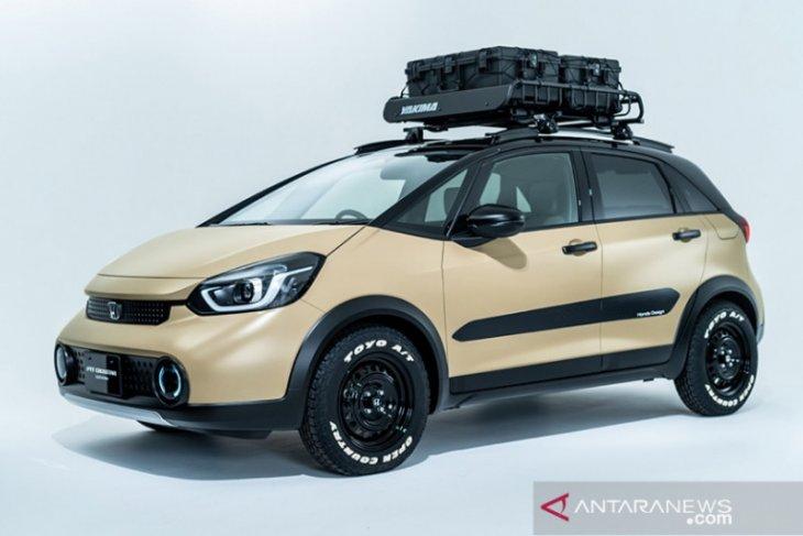Intip mobil modifikasi Honda di Auto Salon 2021, Jazz HEV Crosstar