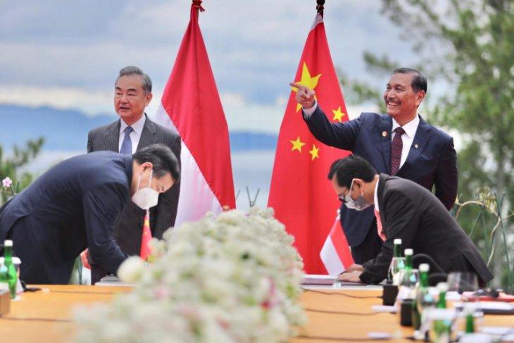 Indonesia dan China tingkatkan kerja sama di berbagai sektor