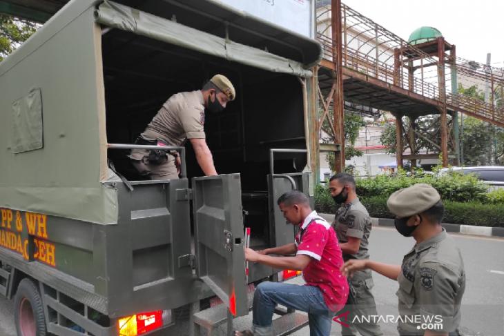 Satpol PP Banda Aceh amankan anak jalanan dan gepeng karena meresahkan warga